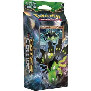 Pokemon TCG Fates Collide XY10 ''Battle Ruler'' Theme Deck - Zygarde