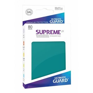Ultimate Guard Supreme UX Sleeves Standard Size Petrol (80)