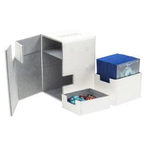 Ultimate Guard Flip'n'Tray Deck Case 100+ Standard Size XenoSkin White