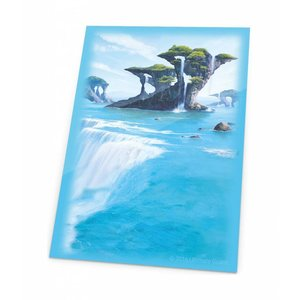 Ultimate Guard Printed Sleeves Standard Size Lands Edition Island I (80)