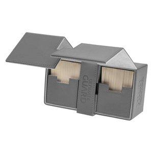 Ultimate Guard Twin Flip'n'Tray Deck Case 200+ Standard Size XenoSkin Grey
