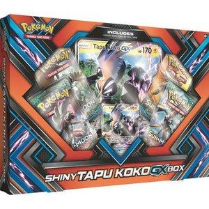Pokemon TCG Shiny Tapu Koko-GX Box