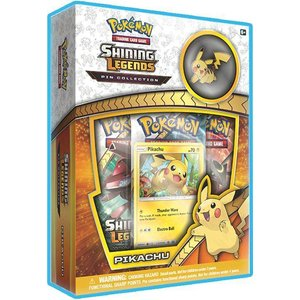 Pokémon TCG Shining Legends Pin Collection – Pikachu