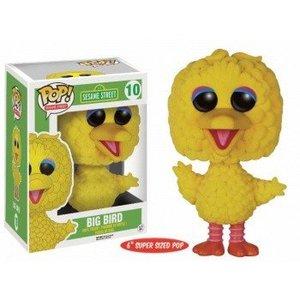 Funko POP! Sesame Street - Big Bird Flocked - Vinyl Figure 15cm