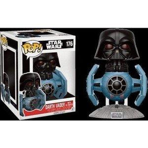 Funko POP! Star Wars - Darth Vader with Tie Fighter Vinyl Figure Set (2) 10cm/15cm limited
