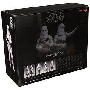 Star Wars Kotobukiya Snowtrooper Set of 2 ARTFX+ Series 19cm