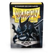 Dragon Shield Dragon Shield Standard Sleeves - Matte Black (60 Sleeves)