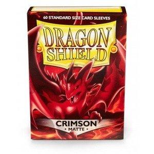 Dragon Shield Dragon Shield Standard Sleeves - Matte Crimson (60 Sleeves)