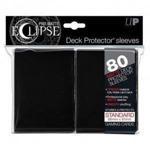 Ultra Pro PRO-Matte Eclipse Standard Sleeves - Black (80 Sleeves)