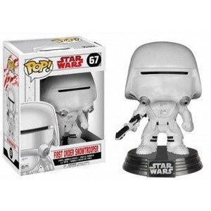 Funko POP! The Last Jedi - First Order Snowtrooper Bobble Head 10cm