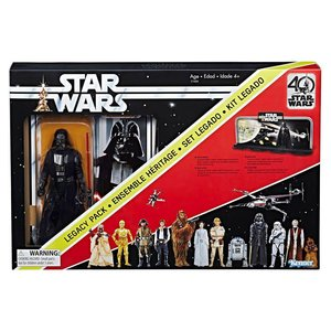 Star Wars Hasbro Black Series Action Figure Darth Vader 40th Anniversary Legacy Pack 15 cm