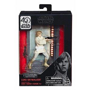 Star Wars Hasbro Luke Skywalker (Episode IV) – Black Series Titanium Series Diecast Figures 10 cm 2017 Wave 1