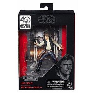 Star Wars Hasbro Han Solo (Episode IV)  – Black Series Titanium Series Diecast Figures 10 cm 2017 Wave 1
