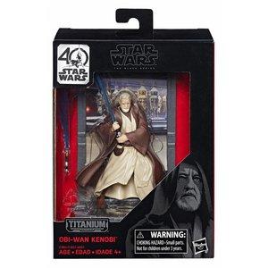 Star Wars Hasbro Obi-Wan Kenobi (Episode IV) – Black Series Titanium Series Diecast Figures 10 cm 2017 Wave 1