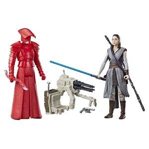 Star Wars Hasbro Rey (Jedi Training/Elite Praetorian Guard Force Link Action Figures 10 cm 2-Packs 2017 Wave 1