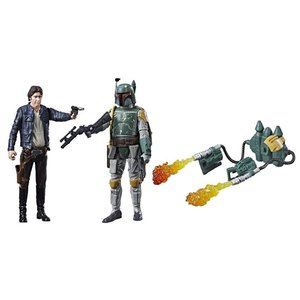 Star Wars Hasbro Han Solo/Boba Fett Force Link Action Figures 10 cm 2-Packs 2017 Wave 1