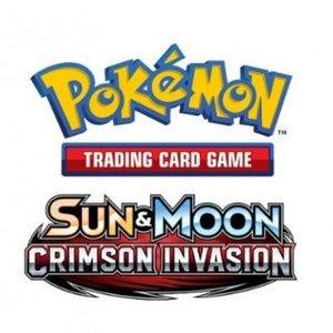 Pokémon TCG SET Crimson Invasion Promo Blister Pakket