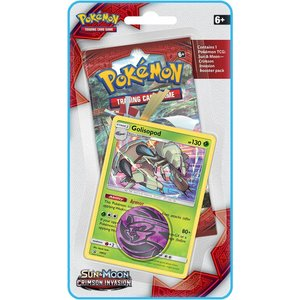 Pokémon TCG Golisopod Crimson Invasion 1-booster blister
