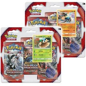 Pokémon TCG SET 3-Booster Promo Blisters Crimson Invasion