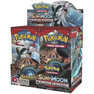 Pokemon TCG Crimson Invasion Booster Box