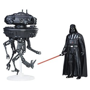 Star Wars Hasbro Imperial Probe Droid & Darth Vader - Force Link Class A Vehicles & Creatures with Figures 2017