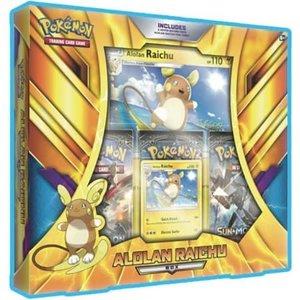 Pokémon TCG Alolan Raichu Box