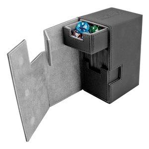 Ultimate Guard Flip'n'Tray  Deck Case 80+ Standard Size XenoSkin Black