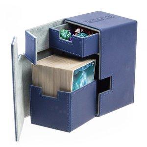 Ultimate Guard Flip'n'Tray  Deck Case 100+ Standard Size XenoSkin Blue