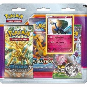 Pokémon TCG Xerneas 3-Booster Blister