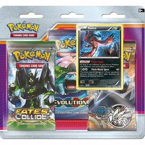 Pokémon TCG Yveltal 3-Booster Blister