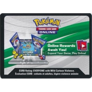 Pokémon TCG Code Card: Shining Legends Booster Pack