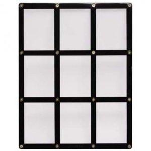 Ultra Pro 9-Card Black Frame Screwdown Holder
