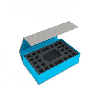 Feldherr Magnetic Box blue for Star Wars Destiny - 2 Decks and 48 Dice
