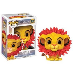 Funko POP! The Lion King - Simba Leaf Mane Vinyl Figure 10cm