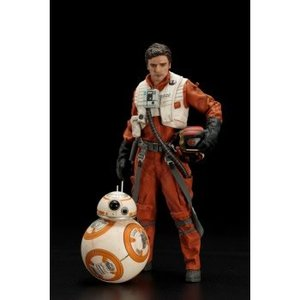 Star Wars Poe Dameron & BB-8 ARTFX+ 2-Pack 1/10 Scale Statue 18 / 7cm