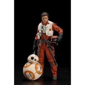 Star Wars Poe Dameron & BB-8 ARTFX+ 2-Pack 1/10 Scale Statue 18 / 7cm