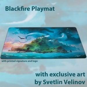 Blackfire Playmat - Svetlin Velinov Edition Island - Ultrafine 2mm