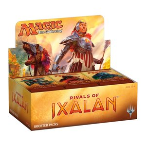 Magic the Gathering Rivals of Ixalan Booster Box + Buy a Box Promo