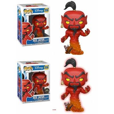 Aladdin POP! Vinyl Figures Red Jafar As Genie 9 cm