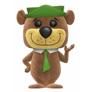 Funko POP! Hanna-Barbera POP! Animation Vinyl Figure Yogi Bear (Flocked) 9 cm