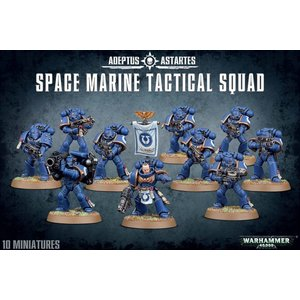 Games Workshop Space Marine Tactical Squad