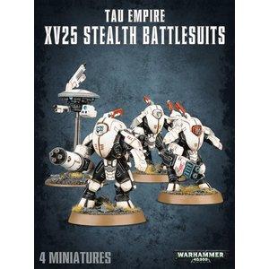 Games Workshop Tau Empire Xv25 Stealth Battlesuits