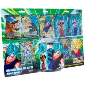 Dragonball SCG Expansion Deck Box Mighty Heroes