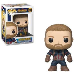 Funko POP! Avengers Infinity War POP! Movies Vinyl Figure Captain America 9 cm