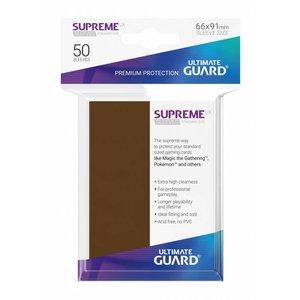 Supreme UX Sleeves Standard Size Brown (50)