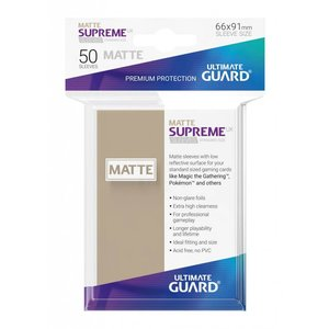 Supreme UX Sleeves Standard Size Matte Sand (50)