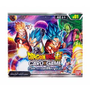 Dragonball Dragonball Z SCG - Galactic Battle - Booster Box