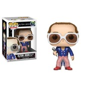 Funko POP! Elton John POP! Rocks Vinyl Figure Elton John Red, White & Blue 9 cm