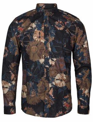 Anerkjendt Blue Konrad Flower Shirt