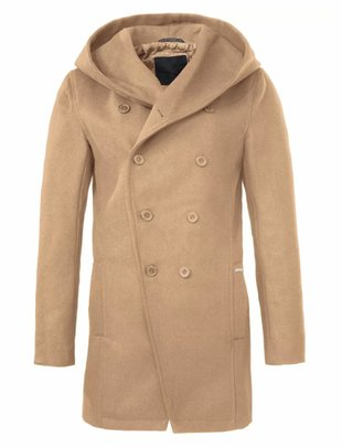 Zumo Camel Hooded Skipton Coat